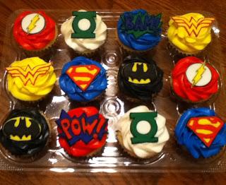 Specialty Cakes DC Comics Birthday Cake
