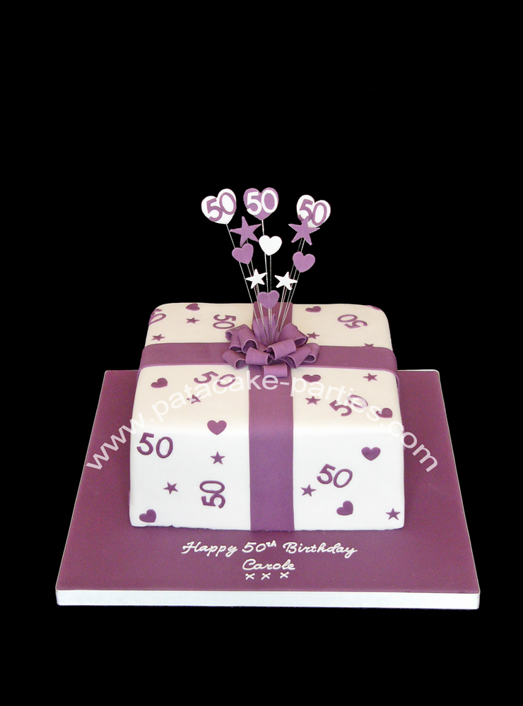 Present Birthday Cakes