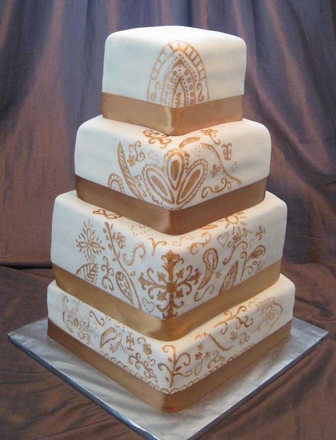 Henna Wedding Cakes