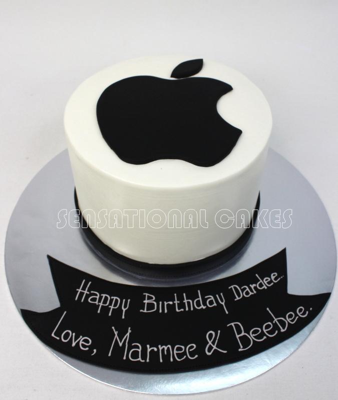 Apple Birthday Cakes