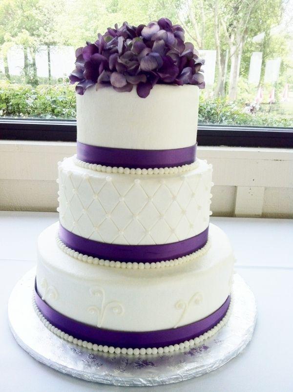 Violet Wedding Cakes
