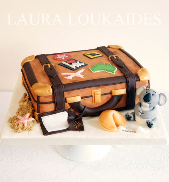 Luggage Birthday Cakes