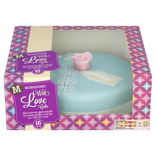 Morrisons Birthday Cakes
