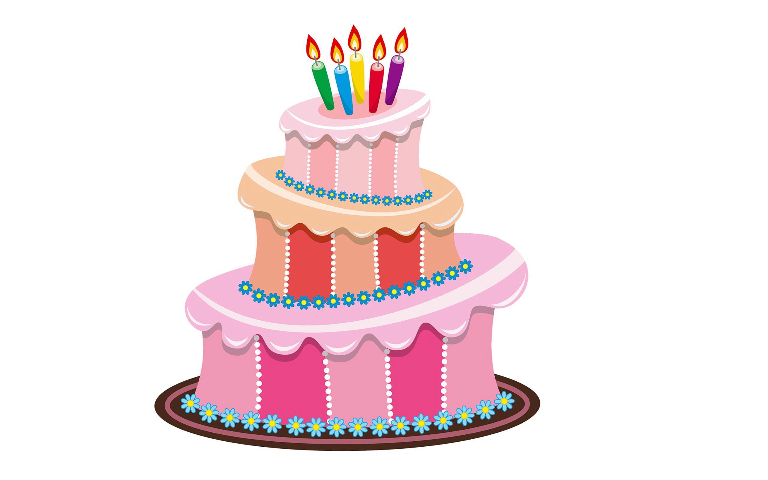 Animated Happy Birthday Cake Imgkid The Image