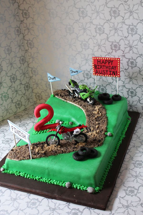 Motocross Birthday Cakes