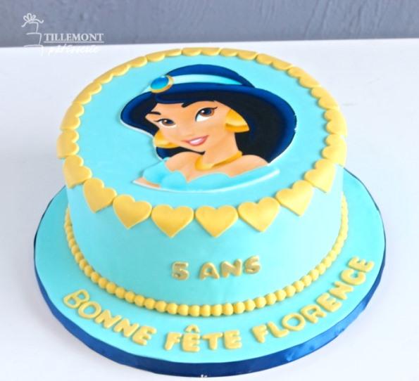 Foroffice Jasmine Princess Cake