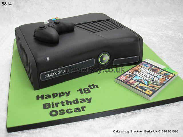 Xbox Birthday Cakes