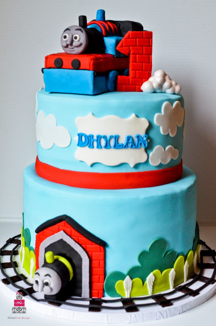 Engine Birthday Cakes