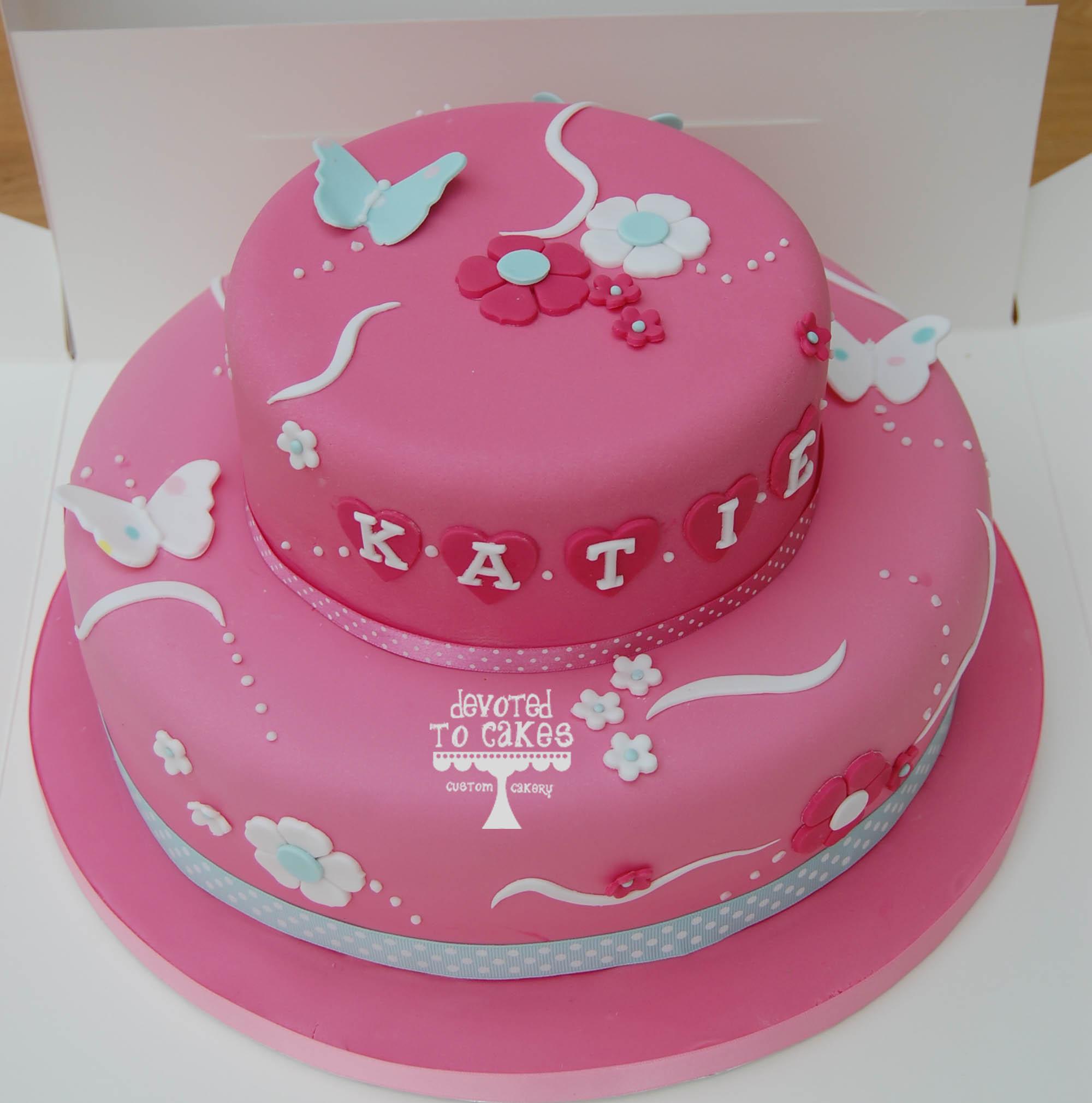 Katie Birthday Cakes