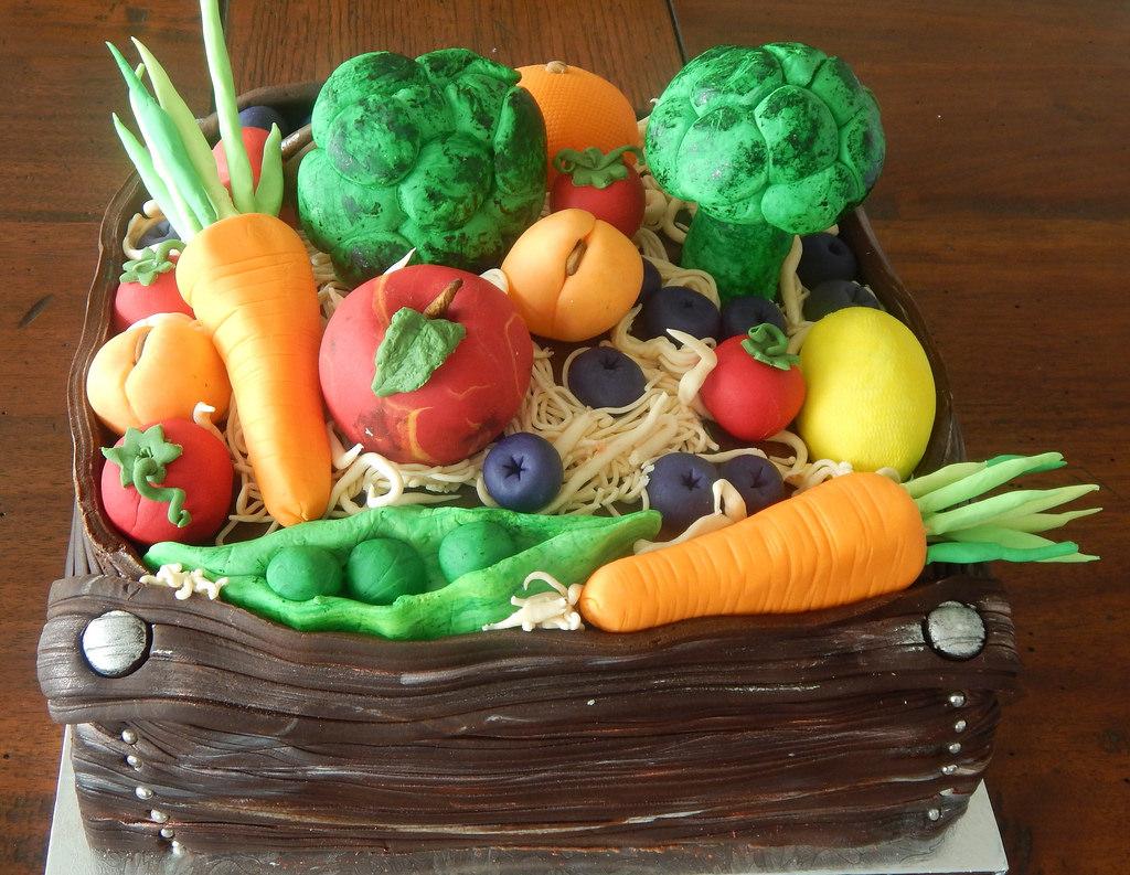 Vegetable Birthday Cakes