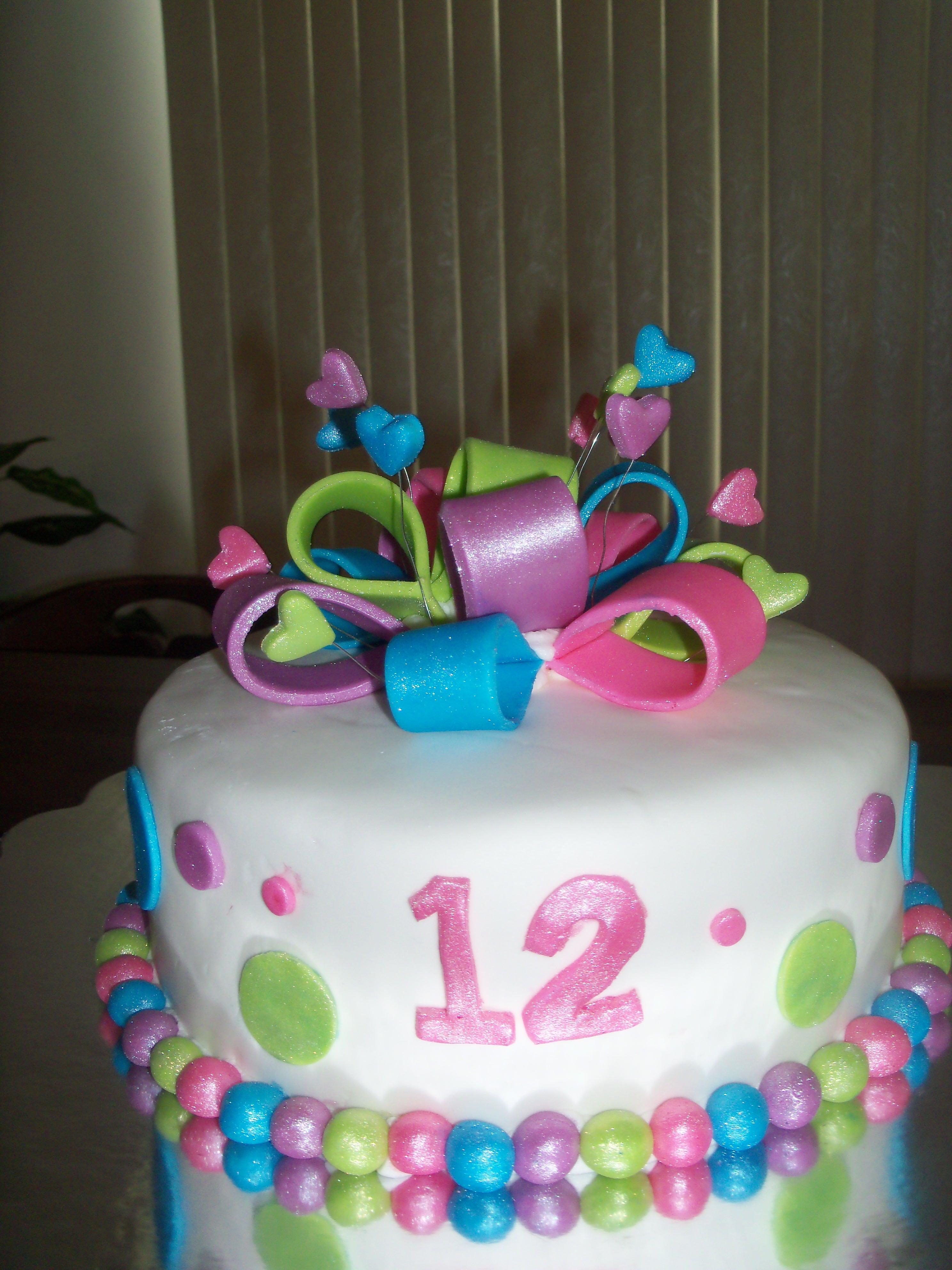 12Th Birthday Cakes