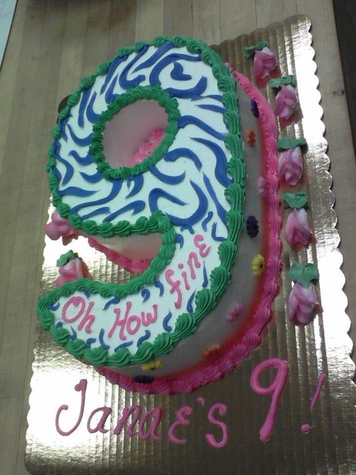 9 Birthday Cakes