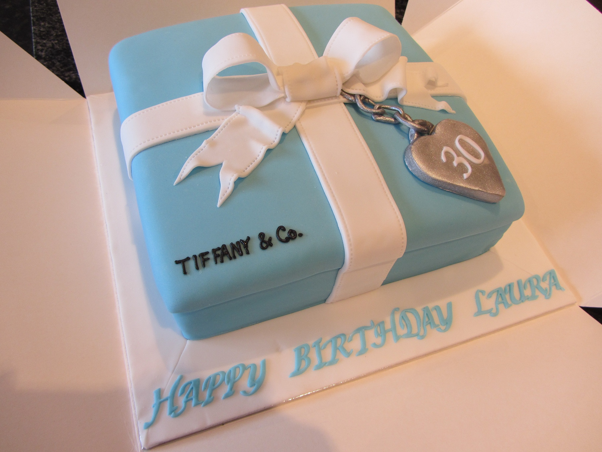 Tiffany Birthday Cakes
