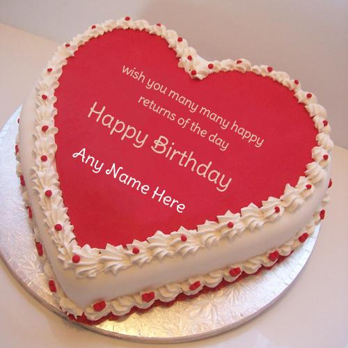 Birthday Wishes Cake Images Name Editing