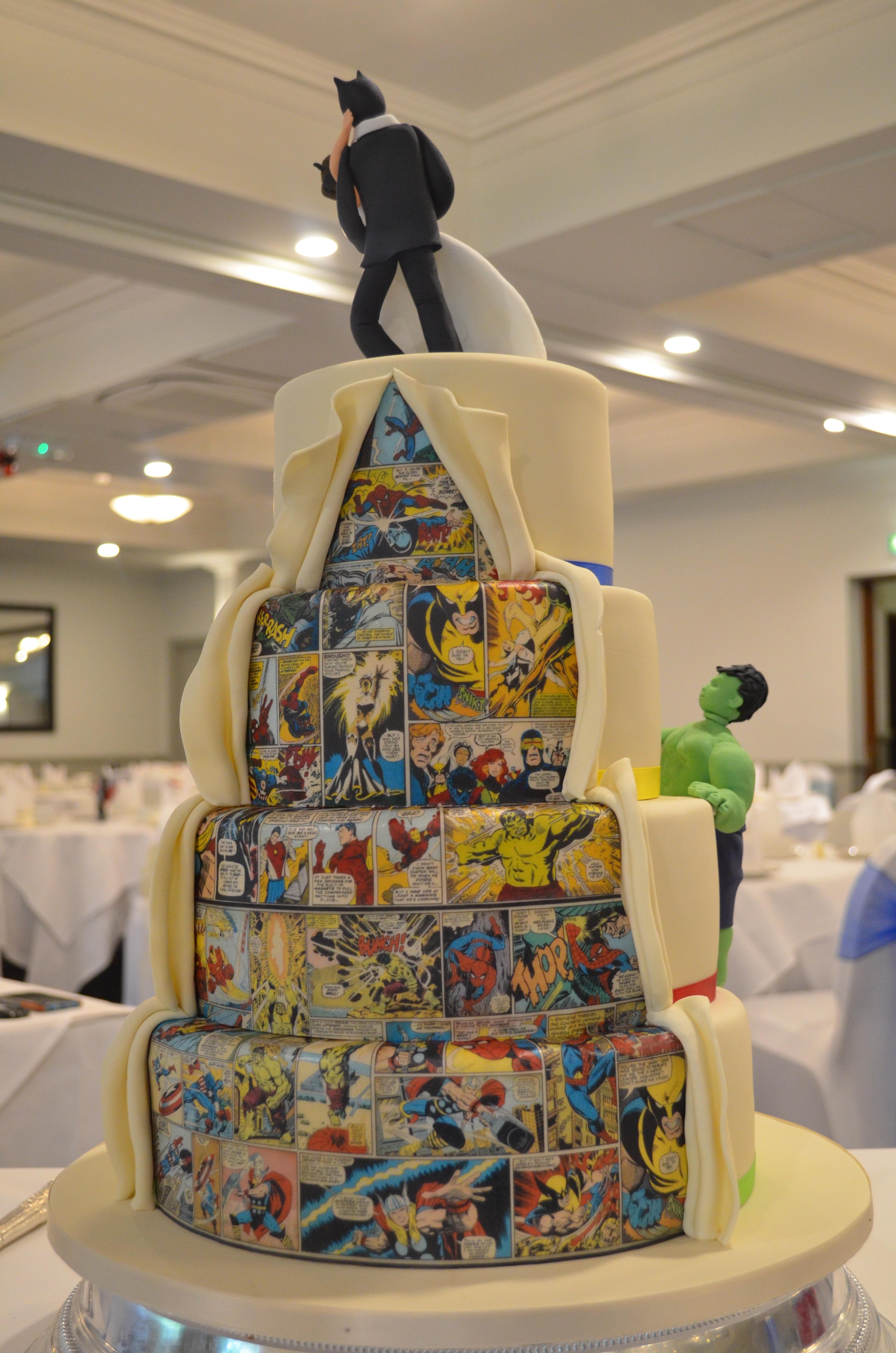Marvel Wedding Cakes