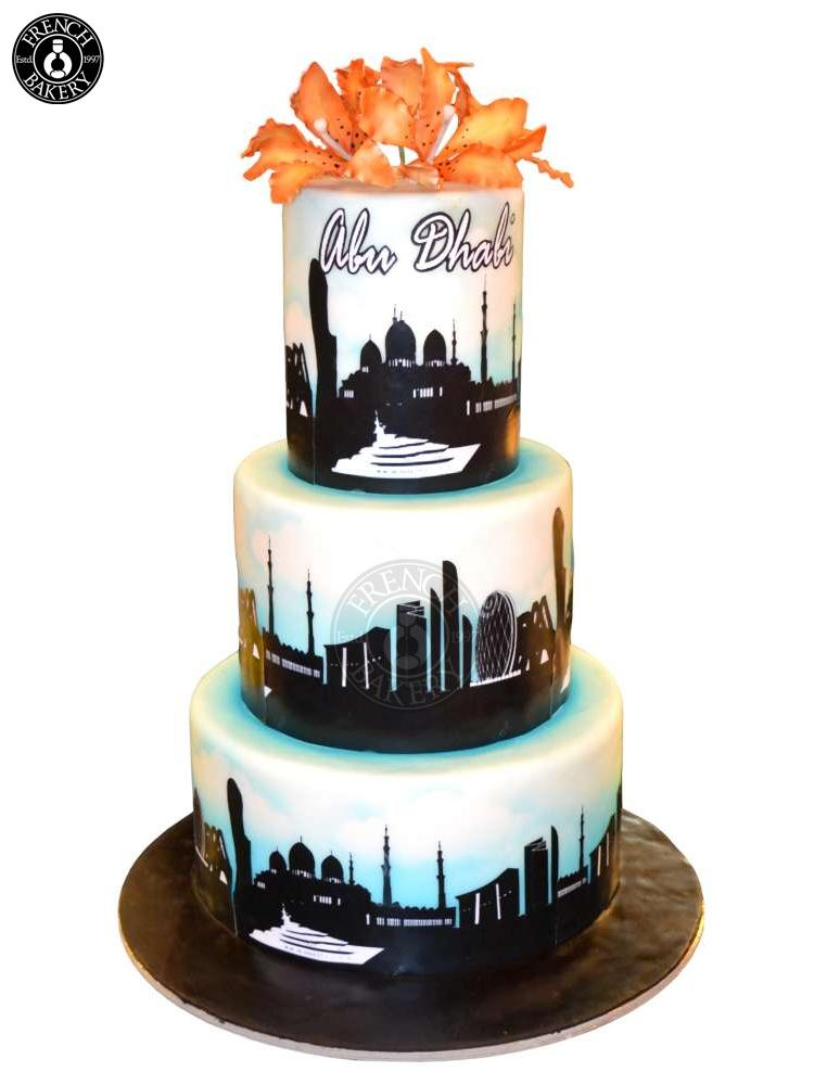 Dubai Birthday Cakes
