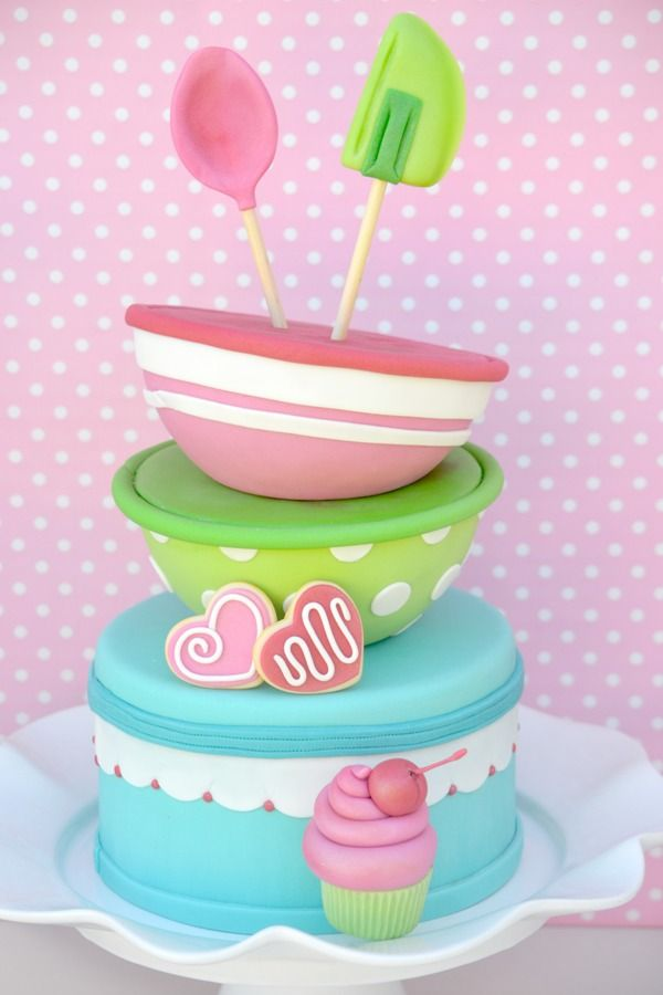 Baking Birthday Cakes