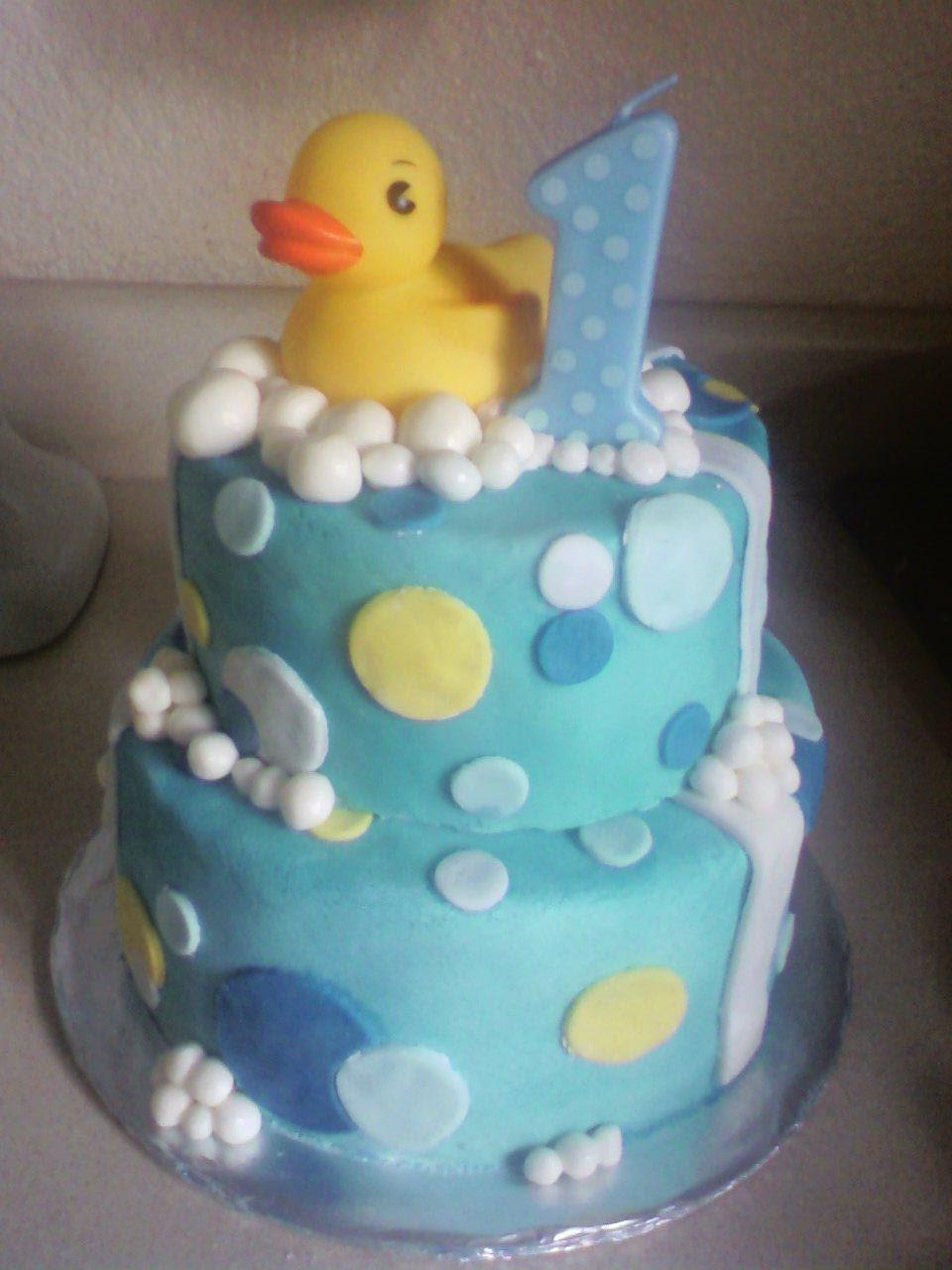 Duck Birthday Cakes