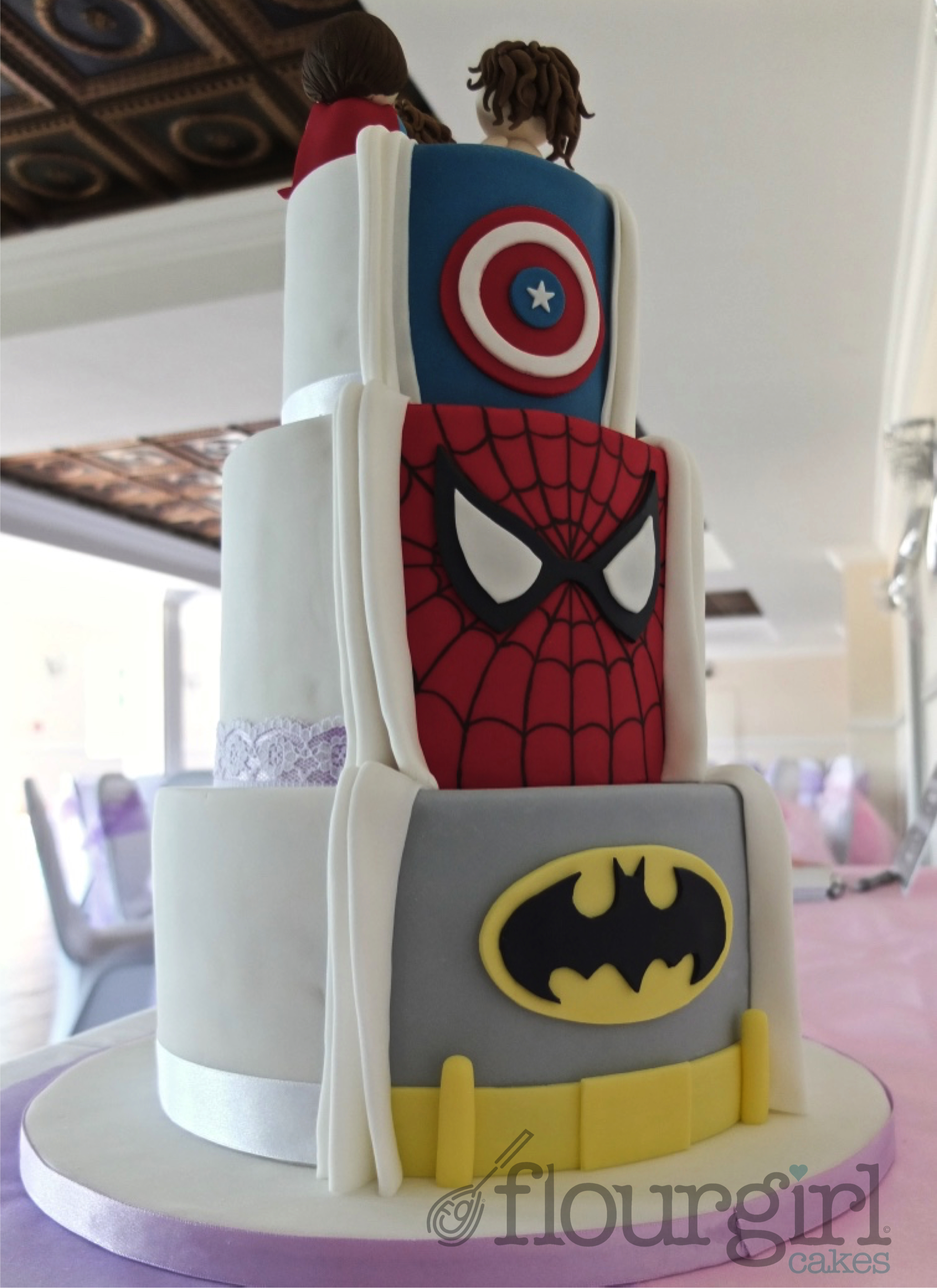 Avengers Wedding Cakes