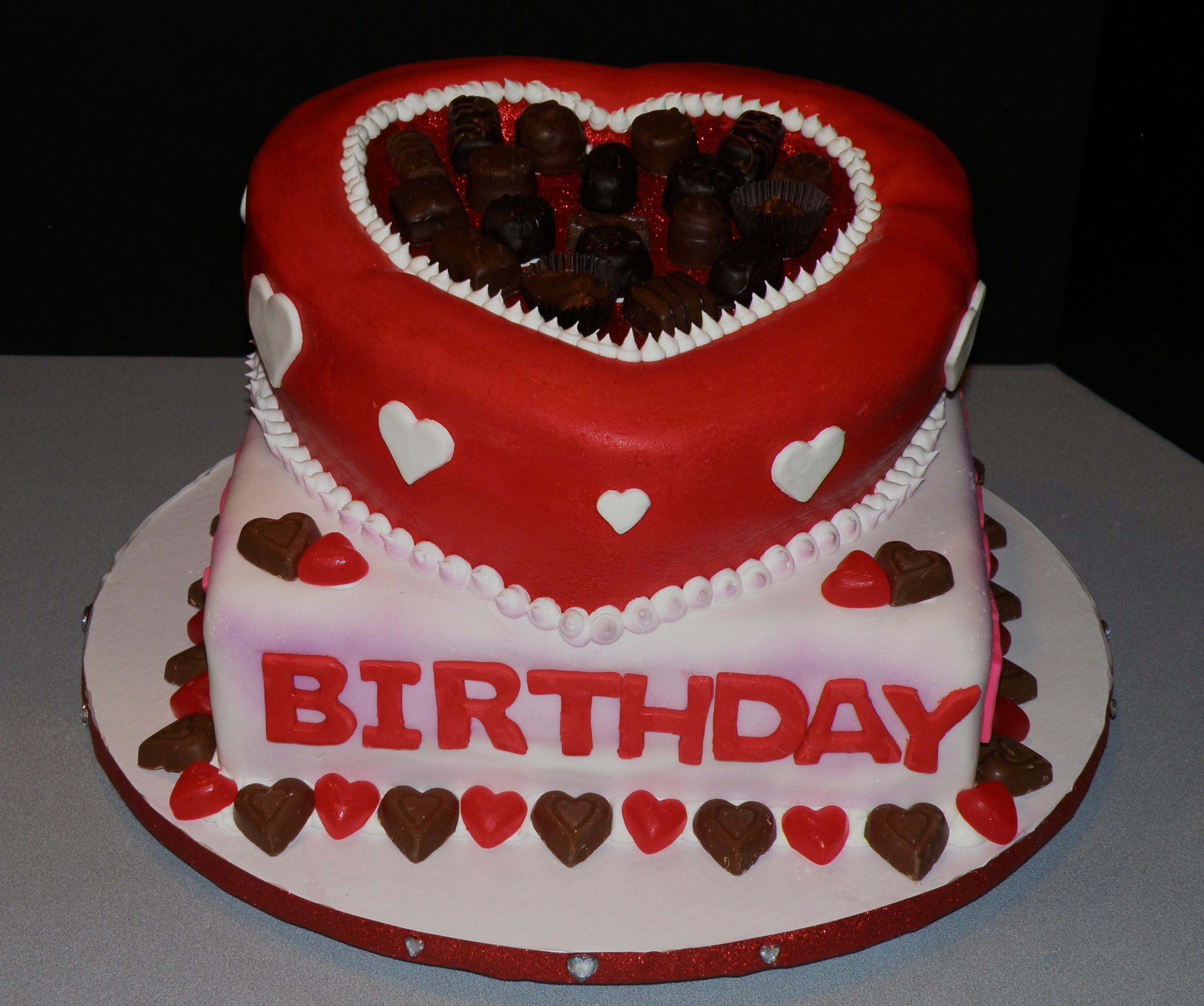 Valentine Birthday Cakes