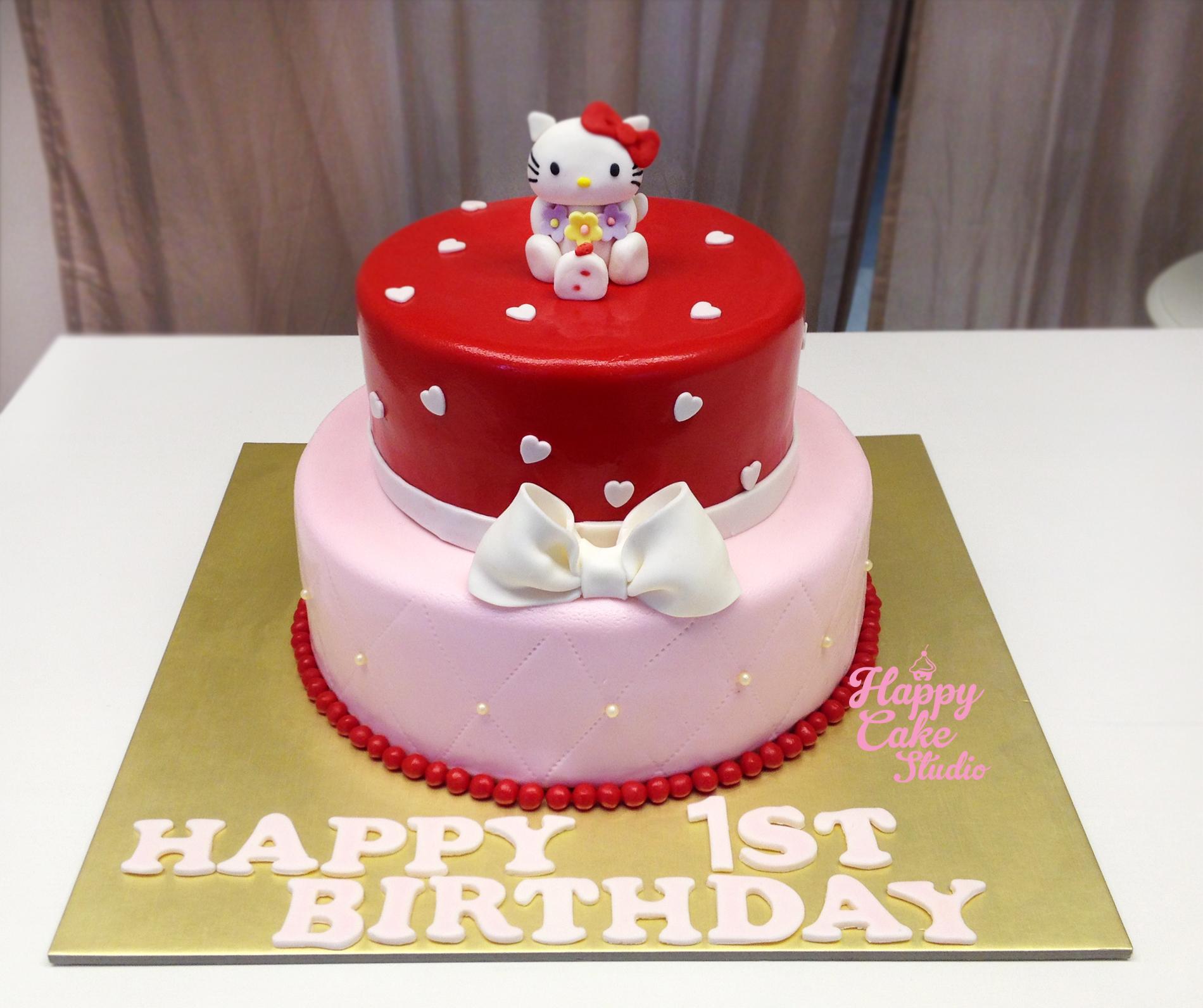 Ribbon Birthday Cakes