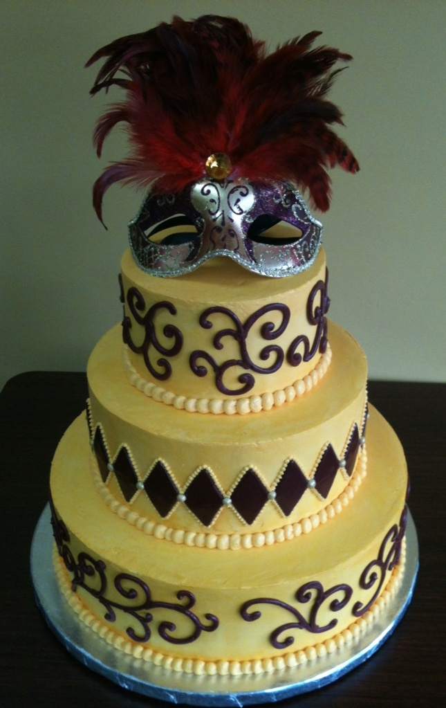 Masquerade Wedding Cakes