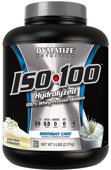Dymatize ISO 100 Birthday Cake 5 Lb 73 Servings