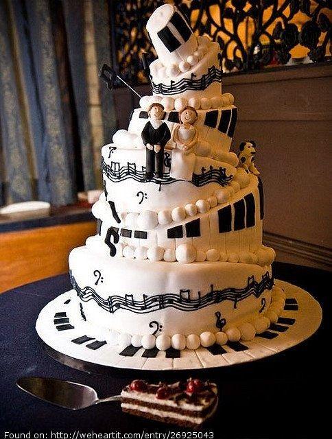 Music Wedding Cakes