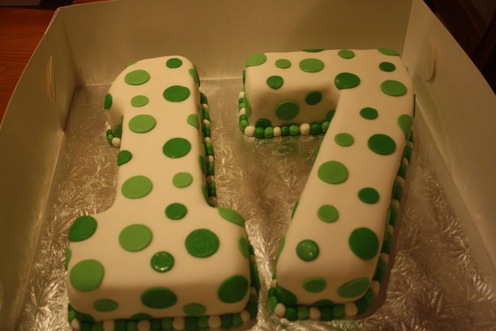 17Th Birthday Cakes