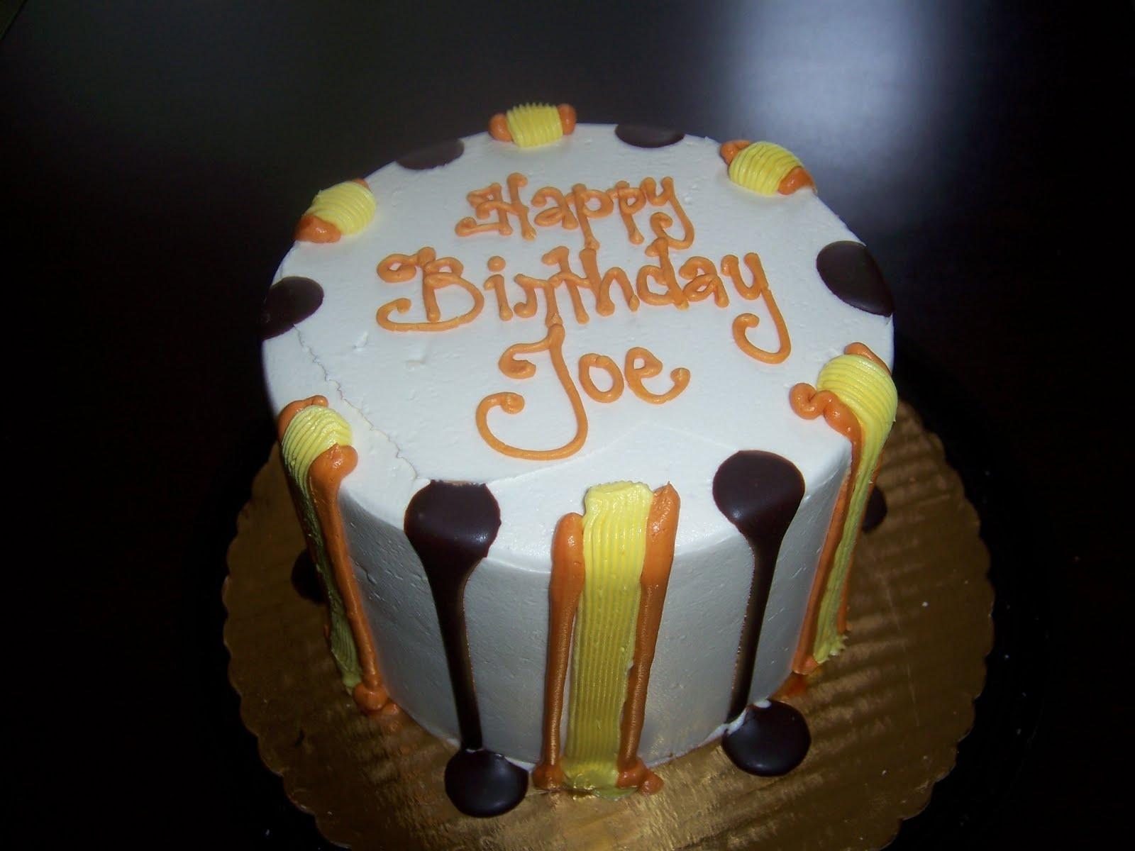 Joe Birthday Cakes