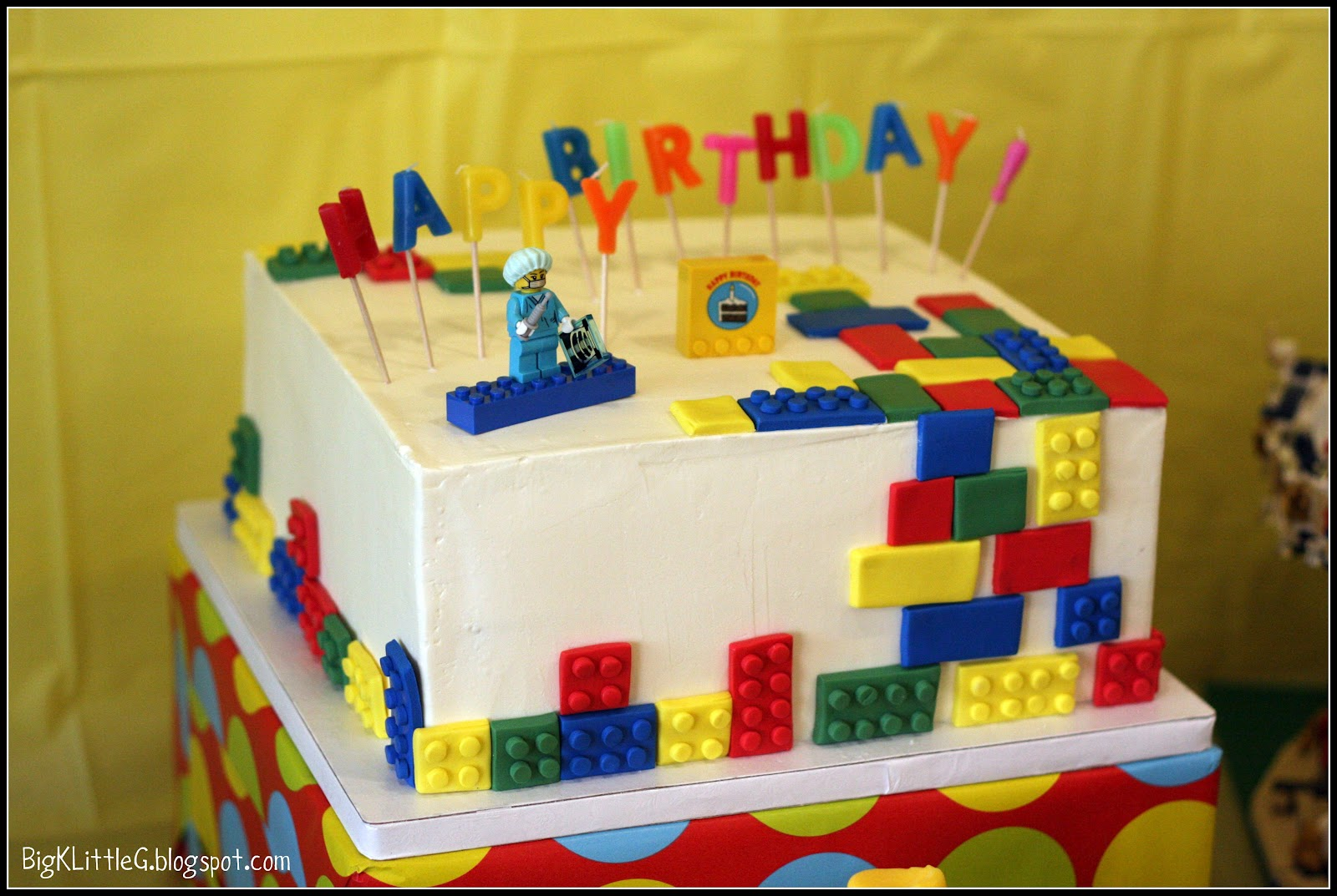 Legos Birthday Cakes
