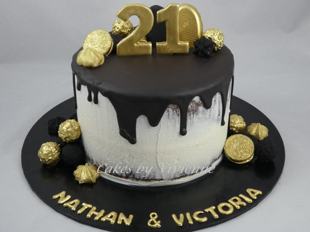 Black Birthday Cakes