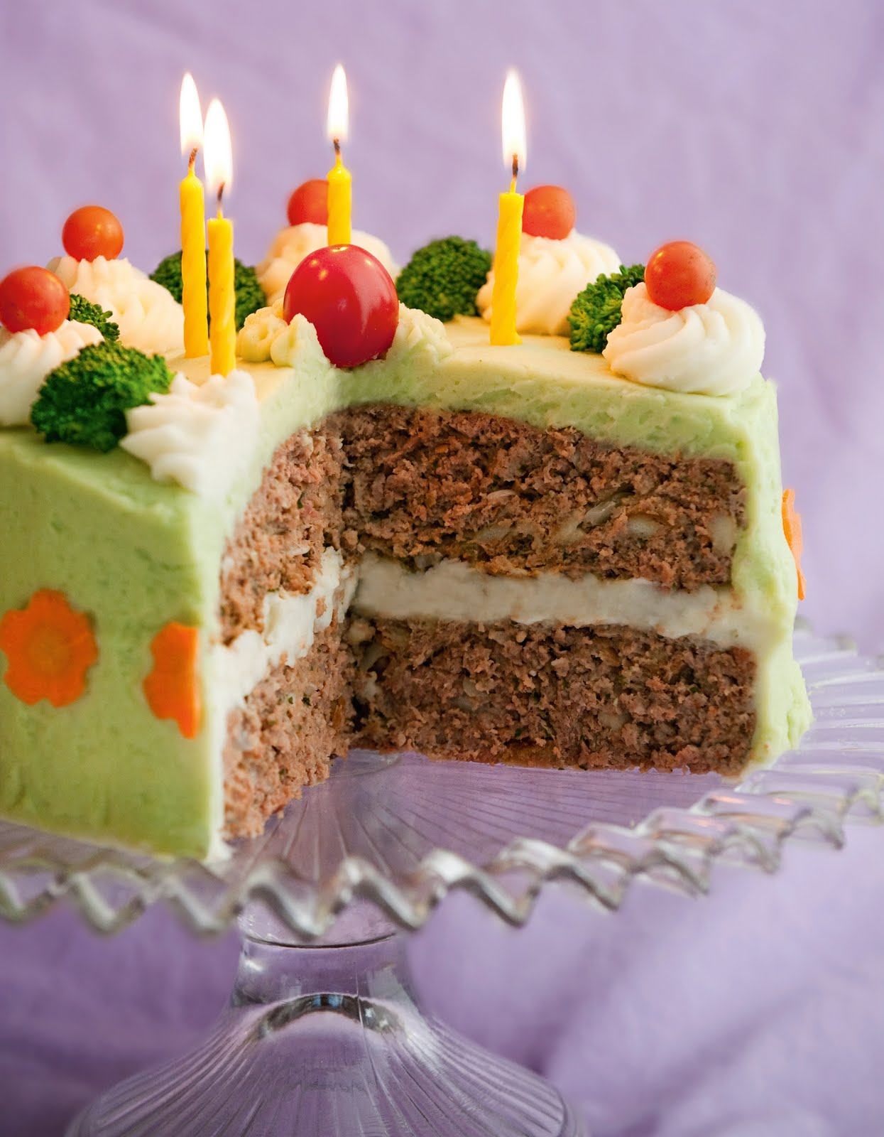 Meatloaf Birthday Cakes