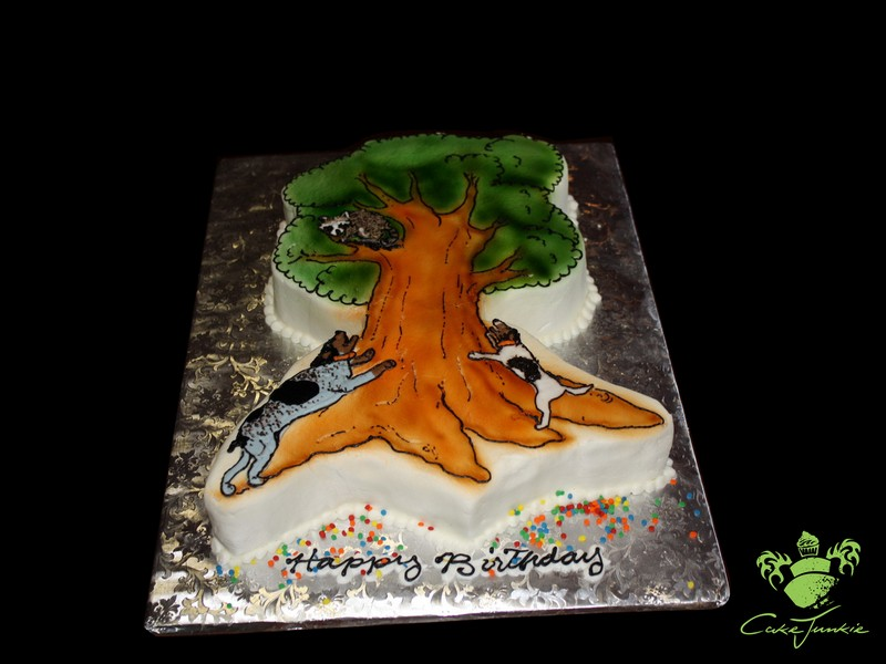 Raccoon Hunting Cake Ideas And Designs