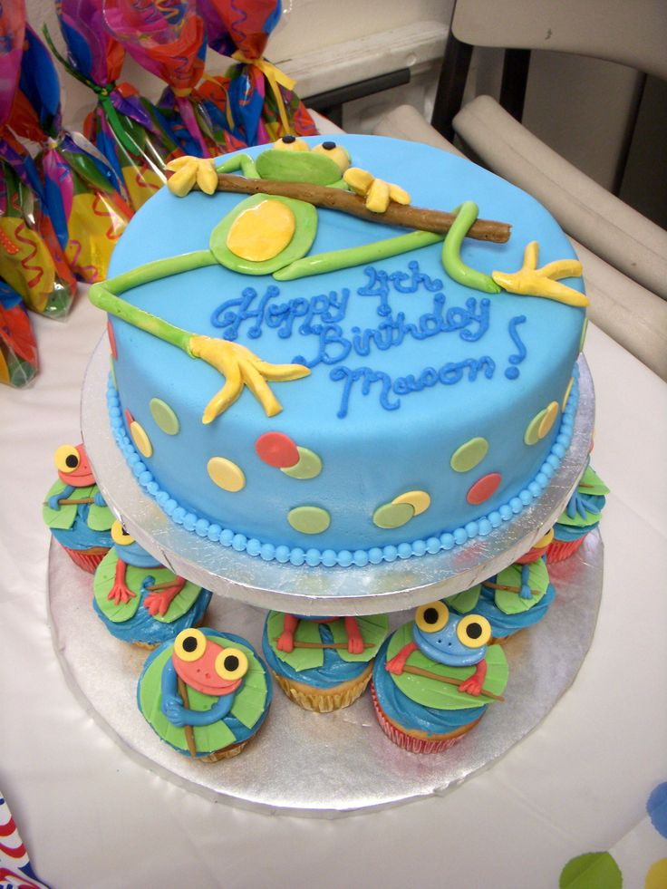 Toad Birthday Cakes