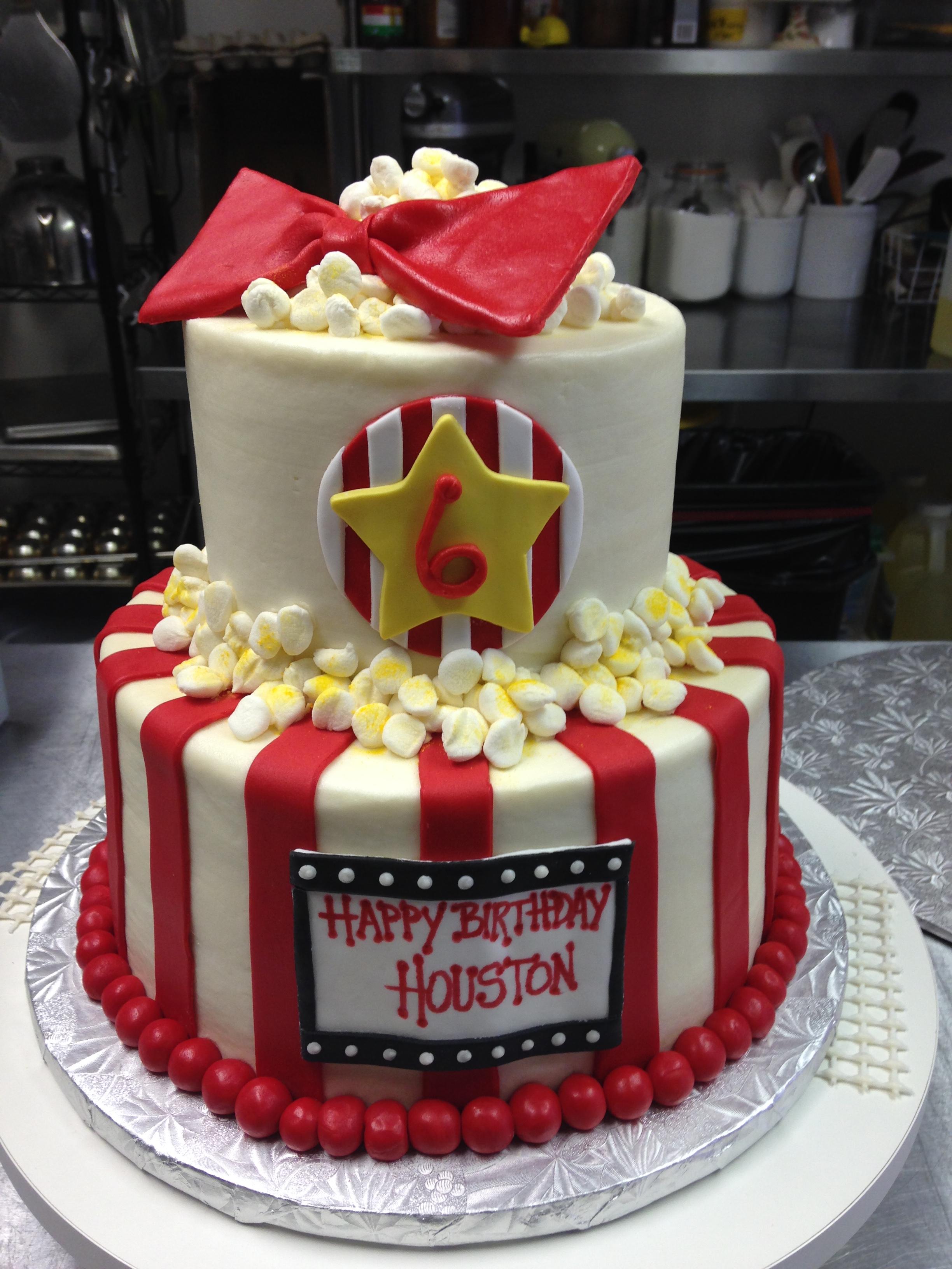 Movie Birthday Cakes