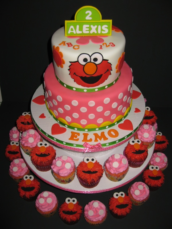 Admirable Elmo Birthday Cake Pictures The Cake Boutique Funny Birthday Cards Online Sheoxdamsfinfo