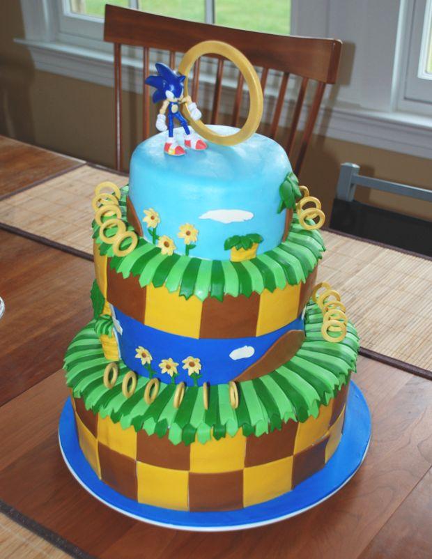 Sonic Birthday Cakes