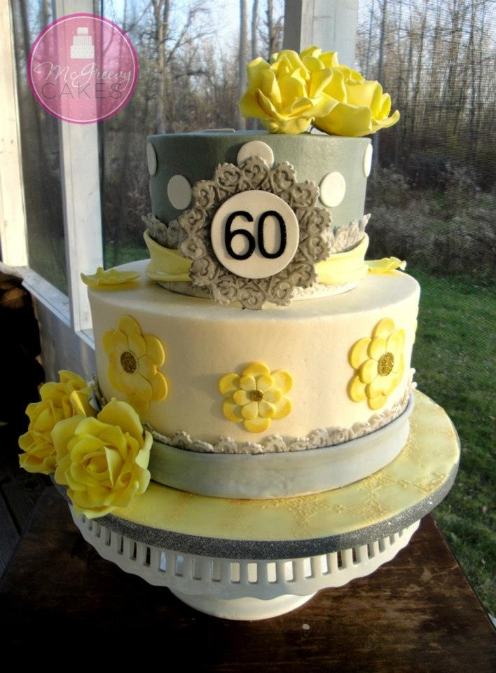 91 Birthday Cakes Pictures 60 Years