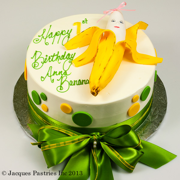 Banana Birthday Cakes