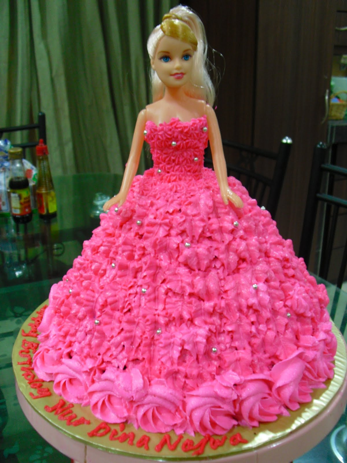 Doll Birthday Cakes
