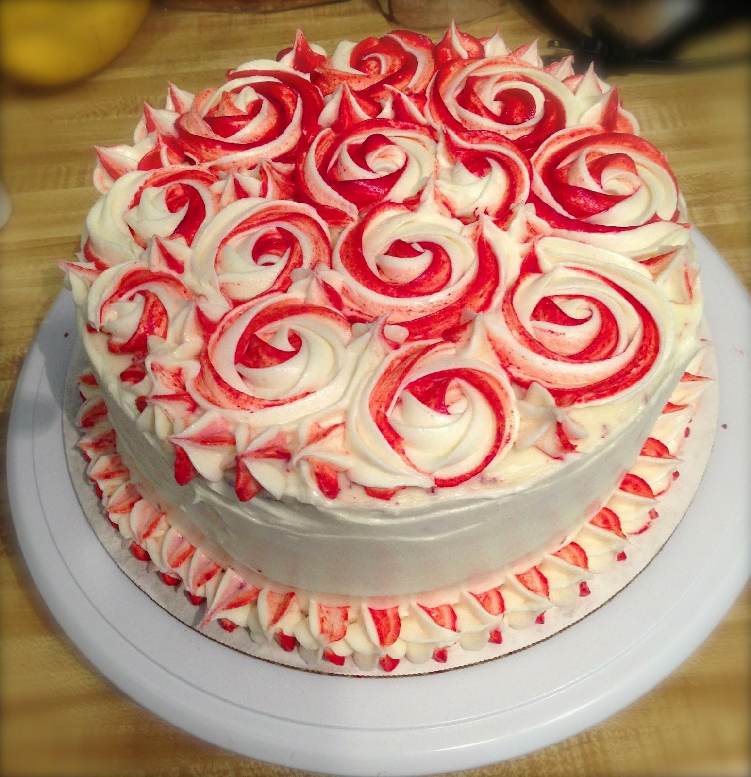 Velvet Birthday Cakes