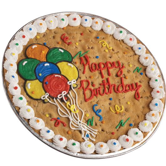 Cookies Birthday Cakes