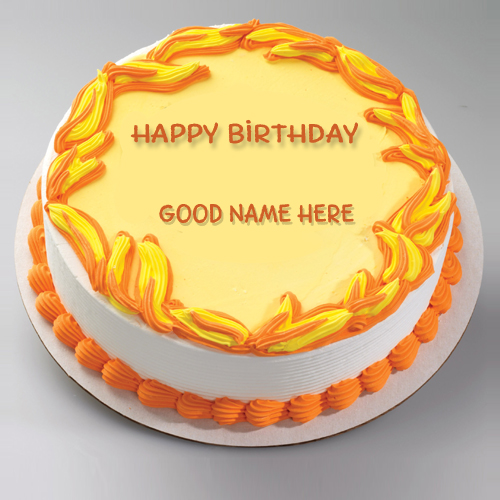 Happy Birthday Cake Name Editor Source Editable Cakes