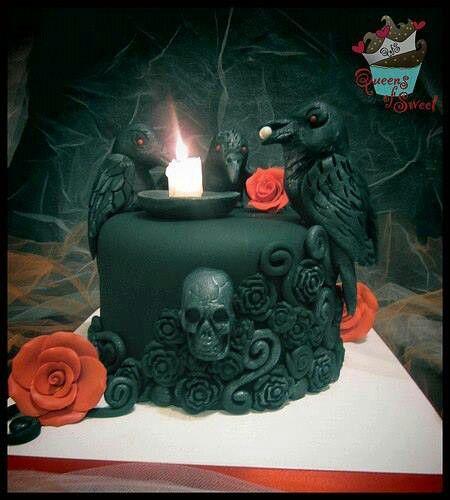 gothic birthday Goth Birthday Cakes gothic birthday