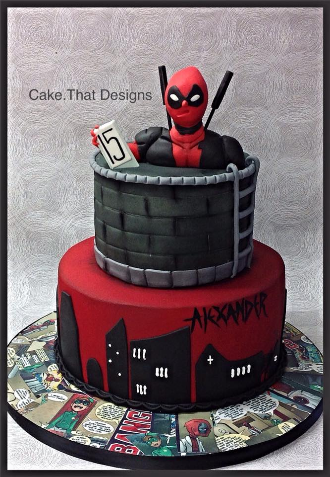 Deadpool Wedding Cakes