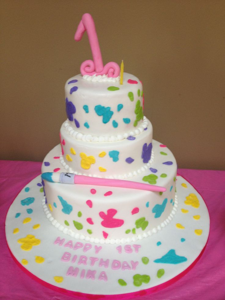 Painter Birthday Cakes
