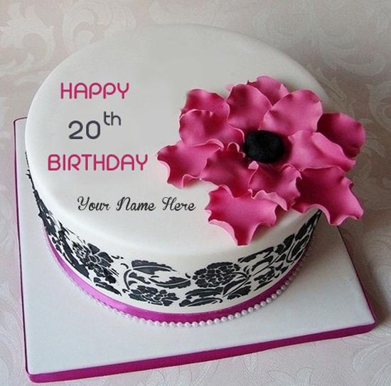 Write Name Wishes Age Birthday Cakes