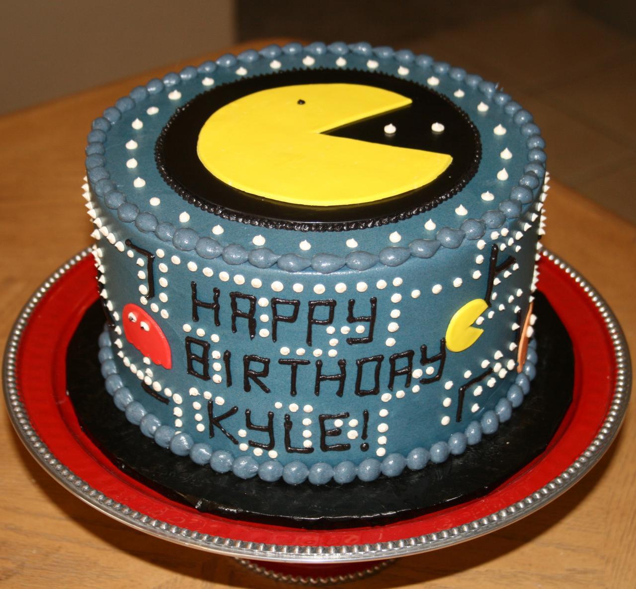 Pacman Birthday Cakes