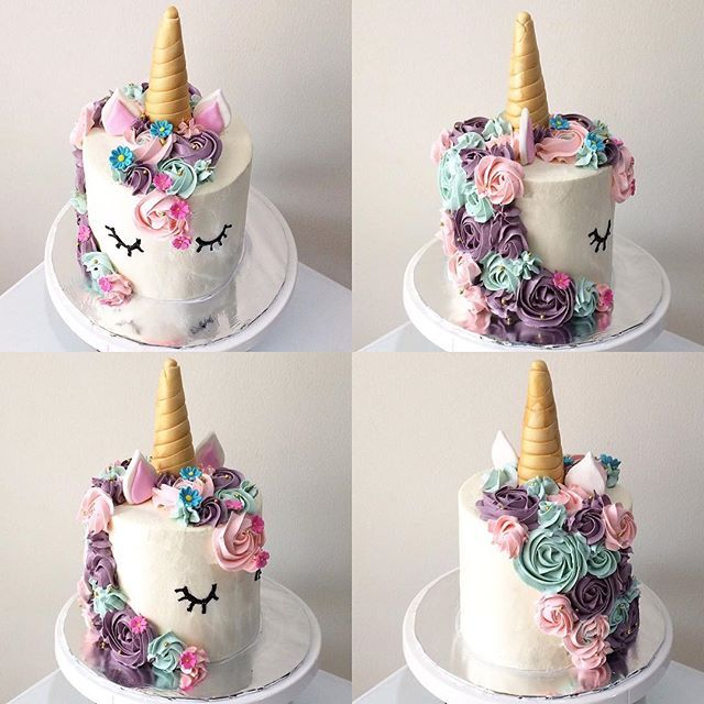 Unicorn Birthday Cakes